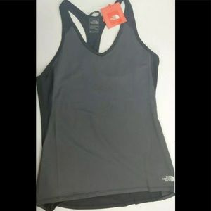 The North Face Grey Tank Top Racerback Flashdry